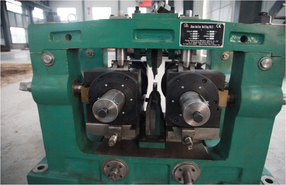 hot-rolled steel ball skew rolling machine